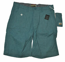 SLVDR Men's Nathan Short Stretchy, Teal, 38