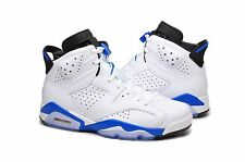 AIR JORDAN 6 RETRO SPORT BLUE MEN Boy BASKETBALL SHOES SELECT SIZE