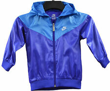 Nike Hoody Kids Infant Baby Girls/Boys Thin Purple Blue Jacket (NEW SUMMER)
