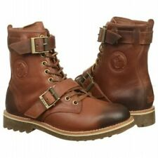 POLO RALPH LAUREN Mens MAURICE Brown Leather Boots