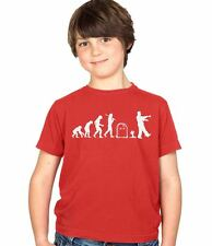Evolution of a Zombie Kids Top Tee T-Shirt Childs Ages 3-13 Boys and Girls Tee