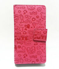 Cute Lovely Girl Leather Pouch Case Cover for SAMSUNG GALAXY S ADVANCE I9070