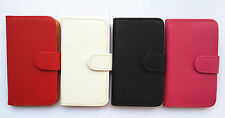 Luxury Flip PU Leather Card slots Wallet Cover Case Pouch for ZTE cell phones