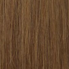 #10 Lightest Brown Full Head Clip in 100% Remy STW Human Hair Extensions C18