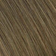 #18 Ash Brown Full Head Clip in 100% Remy STW Human Hair Extensions C19