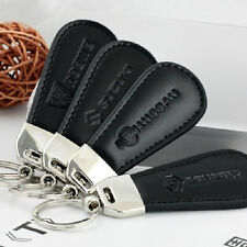 38 Style Fit for Auto LOGO Drop Shape Leather Keychain KeyRing Key chain Fob Hot