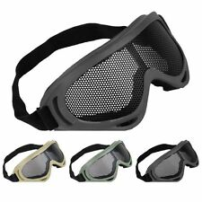 Adjustable Plastic Mesh Protection Hunting Shooting Safety Climbing Wild Goggles