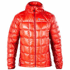 Berghaus Extrem Ilam 850 Fill Hydro Mens Down Jacket Red Jackets Dahlia