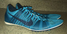 NEW Mens 12 13 NIKE Zoom Victory 2 Gamma Blue Middle Distance Track Spikes Shoes