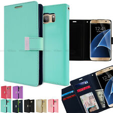 PU-Leather ID Bill Card Wallet Flip case Folio cover for iPhone 6/ Samsung/LG G