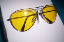Yellow High Definition  Night Driver Avaitor Sunglasses (Choice Of Frame)
