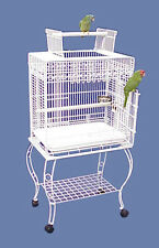 """Hilo Harbor Playtop Small Bird Cage with Stand - 24""""W x 16""""D x 53""""H"""