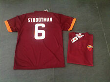 Maglia Strootman 6 Roma Jersey Ufficiale 2014 2015 AS Roma Giallorossa Official