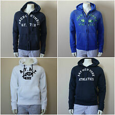 "ABERCROMBIE&FITCH MEN`S HOODIES $100  ""East River Trail"" S,M,L,XL,XXL Navy,White"