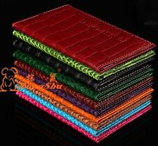 Alligator embossing Passport Holder Protector Cover Wallet PU Leather Cover