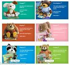 Hallmark Interactive Story Buddy Nugget Cooper Christopher Bigsby Abigail Watson