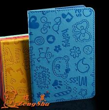 New cartoon Passport Holder Protector Cover Wallet PU Leather Cover
