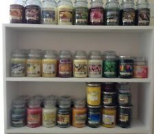 YANKEE CANDLE HUGE Selection LARGE JARS Many Retired Scents!