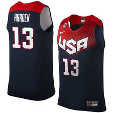 James Harden #13 USA Basketball Dream Team FIBA 2014 World Cup Navy Blue Jersey