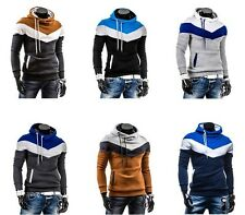 91 New Mens Stylish Casual Slim Fit Pocket Hoodies Coats Jackets Tops Sweatshirt