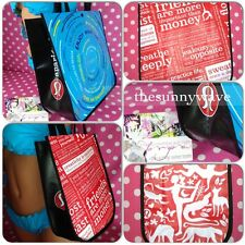 NEW LULULEMON REUSABLE LUNCH YOGA GYM ECO SHOPPING GIFT GEAR COMPACT TOTE BAG
