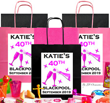 *FILL YOUR OWN BIRTHDAY* PARTY GIFT BAG 5 ITEMS PERSONALISE ANY AGE FAVOUR IDEA