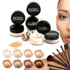 14pc Bare Naked Skin Mineral Makeup Set Kit by NCinc. Minerals Foundation + More