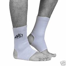 ARD Elasticated Ankle foot Brace leg support pain, injury relief Leg & Foot WHIT
