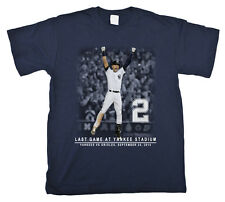 Derek Jeter Respect Captain New York Yankees final Home game T shirt