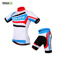 Mens Team Outdoor Sport Cycling Jersey+Shorts Short Sleeve Bicycle Set Bike Suit