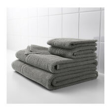 IKEA FRAJEN 100 % Cotton Towels Assorted Sizes Gray Color Free shipping.