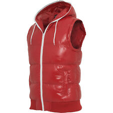 Urban Classics - HOODED BUBBLE Weste rot