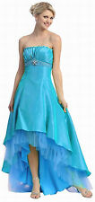 12 COLOR PAGEANT BRIDESMAIDS COCKTAIL DRESSE HOMECOMING EVENING FORMAL GOWN 4-20