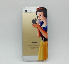 Frozen Elsa & Snow White Disney Princess Hard Case Apple iPhone 5 5s 4 4s