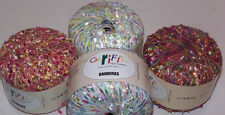 Gerifil Banderas Flag Eyelash Novelty Yarn Sheen Acrylic Necklace Sparkle Sheen