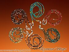 "NEW Beaded Glasses / Sunglasses Spectacle Beads Chain Strap Cord Holder 27"" Long"