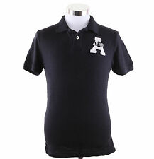 Aeropostale Men Short Sleeve Solid AERO Polo Shirt Style 4551 $0 free Shipping