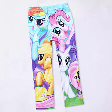 My Little Pony 5-10Y Kids Girls Leggings Tights Pants Trouser Spring Autumn Wear