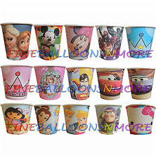 PK8 THEMED 9oz PARTY PAPER CUPS KIDS BIRTHDAY PARTY SUPPLIES TABLEWARE