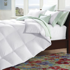 Cuddledown 233 Thread Count White Primary Down Comforter 600 FP White Duck Fill