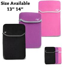"13"" - 14"" Inch Soft Neoprene sleeve protection case cover bag pouch for Laptops"