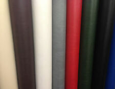 FAUX LEATHER / LEATHERETTE UPHOLSTERY FABRIC MATERIAL (1 METRE)
