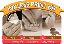 Ink-less Print Kit. Capture hand and footprints with NO INK and NO MESS!