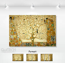 Gustav Klimt - Tree of life - print on canvas picture eco leather