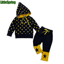 Magic hat kids clothing sets, funny star boys girls outfits Kid 2pc set LZ-T0348