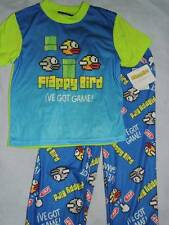 FLAPPY BIRD PAJAMAS SIZE 8 10 12 NEW!