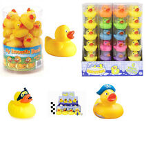 Rubber Ducks Floating Bath Tub Play Time Various Ducks Yellow Multi Colour Tubes