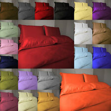 1000TC DUVET COVER SET SOLID 100%EGYPTIAN COTTON IN ALL USA SIZE AND COLORS