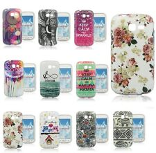 New For Samsung Galaxy Trend Lite S7390 7392 Flower Owl Soft TPU Case Skin Cover