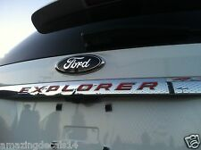 Ford Explorer TailGate Decals 2011 2012 2013 2014 2015 -Over 25 Colors to choose